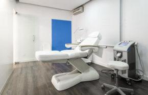 Sala tratamientos medicina estética en Valencia Dr.Antolín