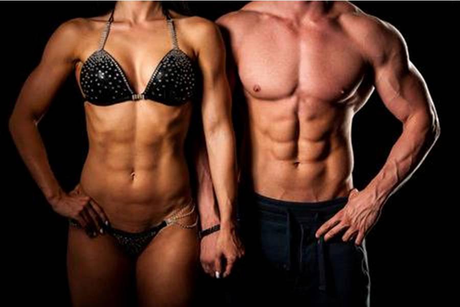 resultados de liposuccion de alta definición con marcacion abdominal